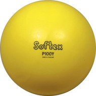 "10"" Yellow Inflatable Vinyl Playball"