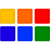 """14"""" Poly Square Spots (set of 6)"""
