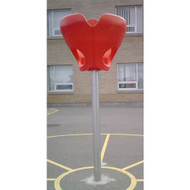 Triple Hoop Playground Basketball Game