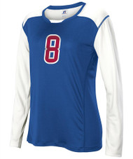 Russell 9V8MIXK Long-Sleeve Volleyball Jersey