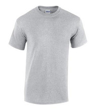 Sport Grey Gildan 5000 Heavy Cotton Adult T-Shirt (S-XL)