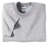 Sport Grey Gildan 8000 Ultra Blend Adult T-Shirt (2XL-3XL)