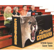 Bison Sport Pride Space Saver 8'  Scorer's Table (Bleacher model)
