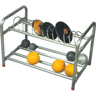 Shot and discus stand