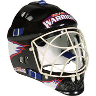Deluxe goalie helmet with wire cage