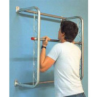 Deluxe adjustable chinning bar
