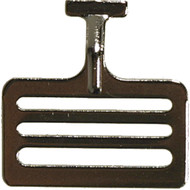 "1 1/2"" Steel Slotted T-Hook fastener"