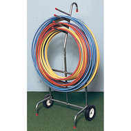 Portable hoop carrier