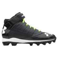 Under Armour Crusher Football Cleat JR - Black
