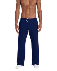 Various Colours Gildan 12300 Ultra Blend Adult Open Bottom Pocketed Sweatpants (S-3XL)