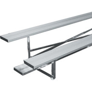Bleachers 15' - 2 row model seats 20