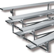 Tip N' Roll Aluminum Bleachers 15' 4 row