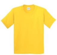 Various Colours Gildan 5000B Heavy Cotton Youth T-Shirt (XXS-XL)