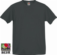 "Black Fruit of the Loom ""Best"" 9 oz. 50/50 Polyester / Cotton T-shirts"