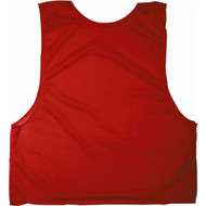 Adult Polymesh Scrimmage Vests - Red