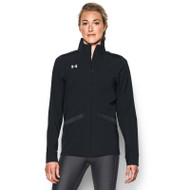 UA Womens PreGame Woven Full Zip Jacket