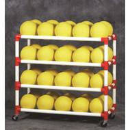 DuraCart 5 Shelf Ball Cart