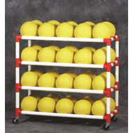 DuraCart 5 Shelf Ball Cart