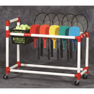 DuraCart All -Terrain Racquet & Paddle Cart