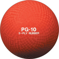 Playground ball rubber 10""