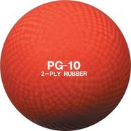 "Playground ball rubber 10"""