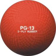 "Playground ball rubber 13"""