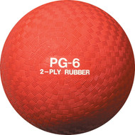 "Playground ball 6"" rubber"