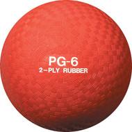 "Playground ball 6"" rubber"