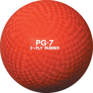 "Playground ball 7"" rubber"
