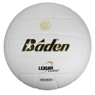 Baden White Composite Leather Volleyball