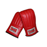 Boxing Bag Mitts Leather