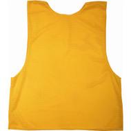 Adult Polymesh Scrimmage Vest - Gold