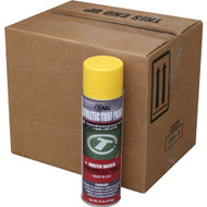 17 oz. Yellow Aerosol Paint Cans (Case of 12)