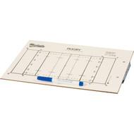 Rubgy clip board w/pen