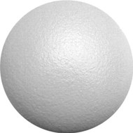 Foam ball with durable skin 8.3""