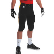 Russell Adult Blitz Game Pant With Contrasting Side Inserts - Black