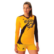 Russell Women's Cap Sleeve Sublimated Volleyball Jersey - Drive