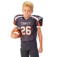 Russell Youth Sublimated  Game Jersey -  Stealth