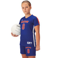 Russell Girl's Sublimated Volleyball Raglan Sleeve Jersey - Captain