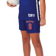 Russell Girl's Sublimated Volleyball Short - Base