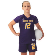 Russell Girl's Sublimated Volleyball Raglan Sleeve Jersey - Base