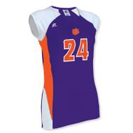 Russell Women's Cap Sleeve Custom Volleyball Jersey