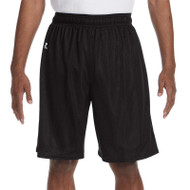 Russell Men's 9'' Nylon Tricot mesh Short