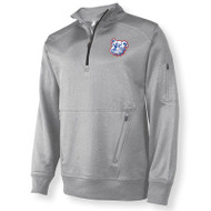 Russell Men's 1/4 Zip Performance Fleece Cadet