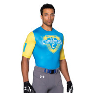 Under Armour Men's Armourfuse Compression 1/2 Sleeve Jersey - Assault
