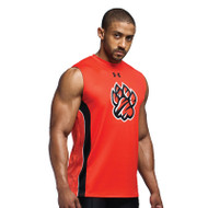 Under Armour Men's Armourfuse Compression Sleeveless T - Split