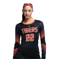 Under Armour Armourfuse Women's Long Sleeve Volleyball Jersey - Rally