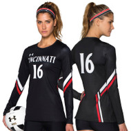 Under Armour Armourfuse Women's Long Sleeve Volleyball Jersey - Perfect Pass