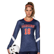 Under Armour Armourfuse Youth Long Sleeve Volleyball Jersey - Game Point