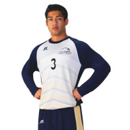Russell Men's Sublimated Performance  Long Sleeve Soccer Jersey - Protect